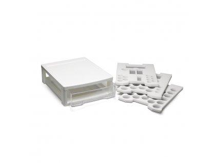 Box na materiál IPS Style Ceram, střední bílý (80mm)