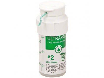Ultrapak CleanCut - retrakční vlákno, č.2 zelené