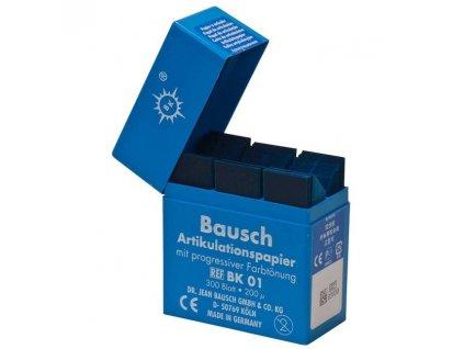 Bausch Artikulační papír, krabička BK01