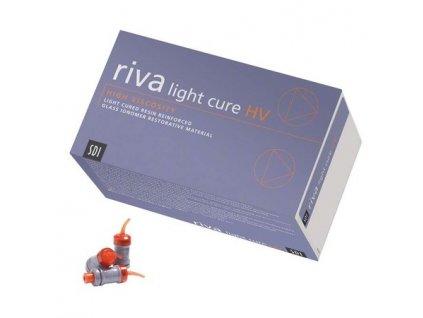 Riva light cure HV - skloionomerní materiál, kapsle 50 ks