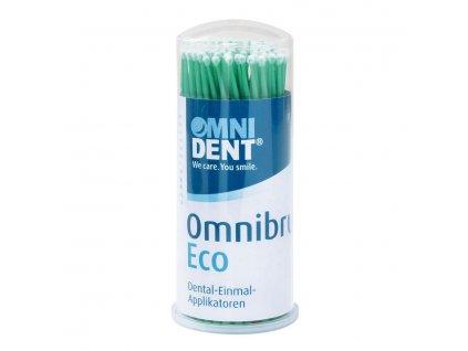 Omnibrush ECO - mikroaplikátory, zelené