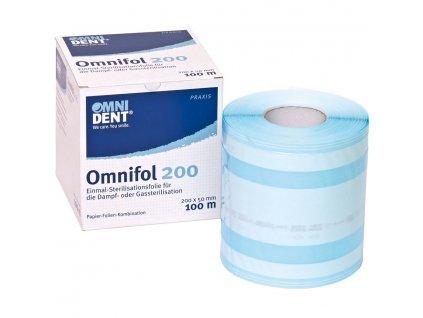 Omnifol - jednorázová sterilizační fólie, 200mm x 100m