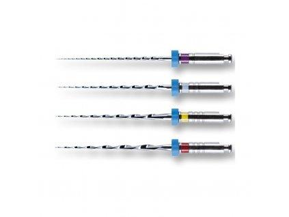 MTWO 04 - NiTi kořenové nástroje, ABT 21 mm, 25 mm, ISO 010