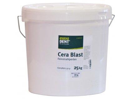 OMNI Cera Blast - jemné tryskací perly, 25kg