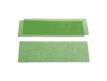 YETI Voskové listy zelené, hladké, 0,60mm