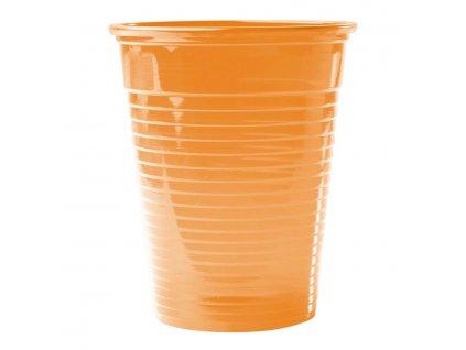 Omnicup PP - výplachové kelímky, 3000ks průhledné oranžové