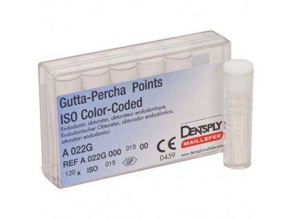 Gutta-Percha Color-Coded .02 - gutaperčové čepy, 015