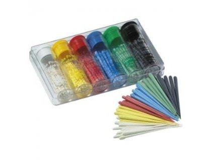 Gutta-Percha Color-Coded .02 - gutaperčové čepy, 100