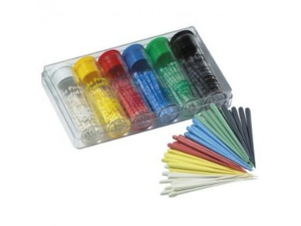 Gutta-Percha Color-Coded .06 - gutaperčové čepy, sortiment 015-040