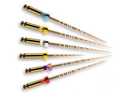 Protaper Gold - NiTi kořenové rotační nástroje, sortiment SX/F3 31 mm STER