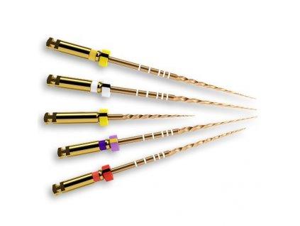 Protaper Gold Finishing - NiTi kořenové rotační nástroje, 21mm F1 STER