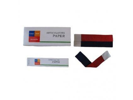 RISTEA Artikulační papír 100µm červený