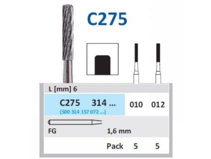 HORICO Tvrdokovová finírka - cylindr, C275314, průměr 1mm