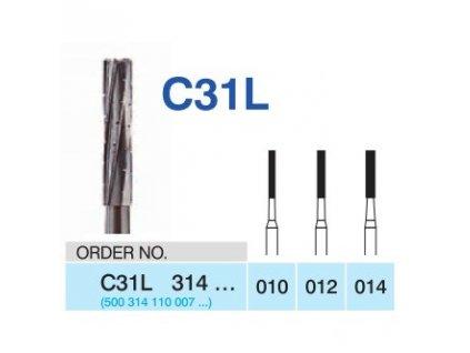 HORICO tvrdokovový vrtáček - cylindr, C31L314 (FG)