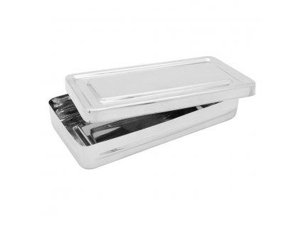 Krabička sterilizační; nerez; 200×100×30 mm