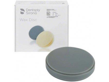 Voskový disk šedý, 16mm