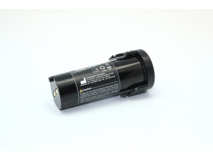 Battery with label