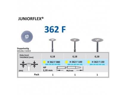 Diamantový disk JUNIORFLEX - oboustranně sypaný, 1cm, extra jemná