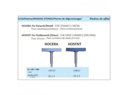 Leštící guma HOCERA H9737