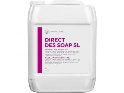 Direct Des Soap SL - mycí emulze, antibakteriální, 5l