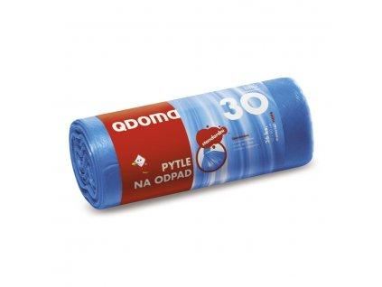 Q-pytle na odpad HDPE 30l, modré