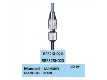 HORICO Mandrel pro leštící gumy průměr 2mm, RF326H