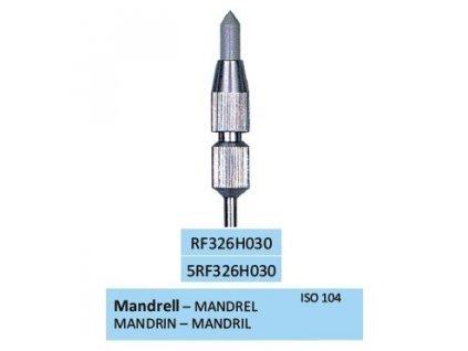 HORICO Mandrel pro leštící gumy průměr 3mm, RF326H