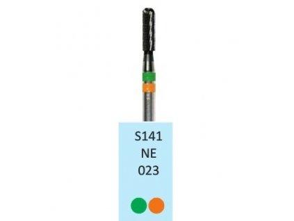 Tvrdokovová fréza - cylindr zakulacený, S141NE, průměr 2,3mm