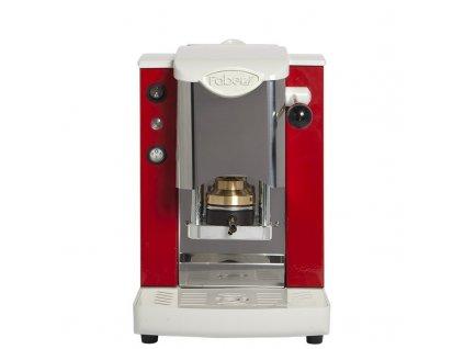 Kávovar SLOT INOX červený