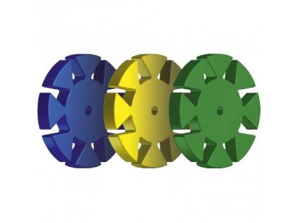 SafetyMemoryDisk, 100ks zelený