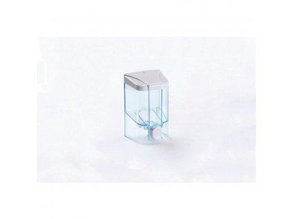 Dávkovač na tekuté mýdlo 1000ml, transparentní plast