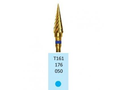 Tvrdokovová fréza s titanovou vrstvou - kónus, T161176, průměr 5mm