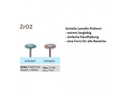 Leštící guma Lamello ZrO2 W9418ZR