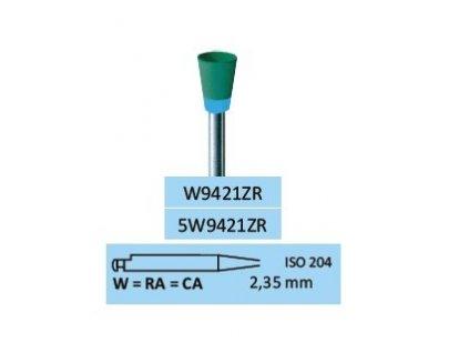 Leštící guma ZrO2-M W9421ZR
