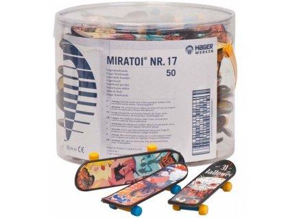 Miratoi hračky skateboard, 50ks