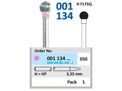 Tvrdokovová fréza - kulička, 001134, průměr 5mm