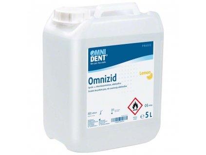 Omnizid Lemon - postřiková dezinfekce 5l