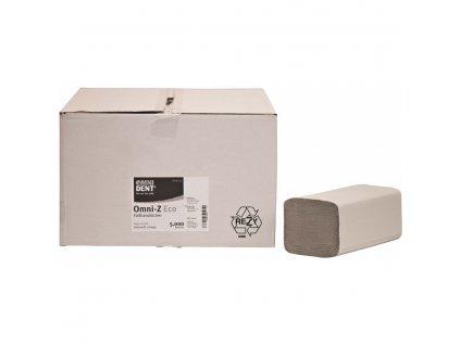 OMNI Z-Eco - papírové ubrousky přírodní, 5000ks