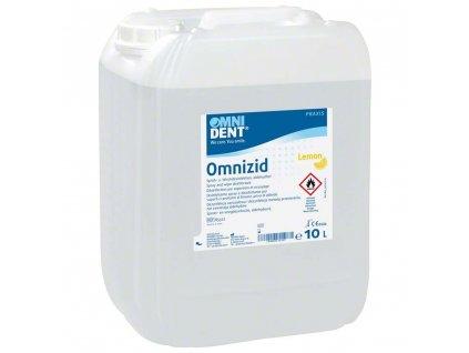 Omnizid Lemon - postřiková dezinfekce 10l