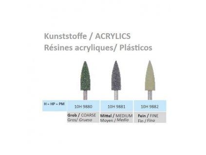 Leštící guma Lamello Kunststoffe H9882 10ks