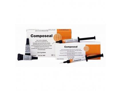 Composeal - skloionomerní cement, stříkačky 2x2ml