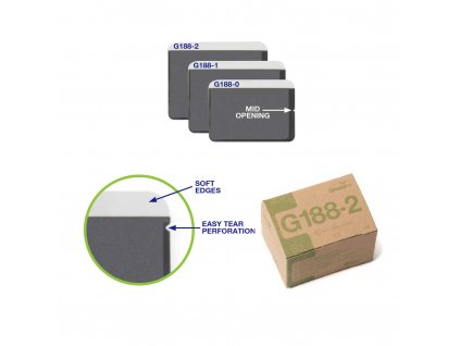 Greenline ochranné návleky na RTG se středním otevíráním, vel. 2, 100ks