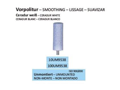 Leštící guma CERADUR WEISS UM9538 10ks