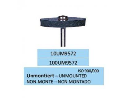 Leštící guma UNISOFT SCHWARZ UM9572 10ks