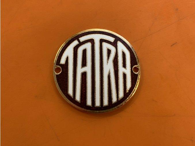 Znak Tatra zadní