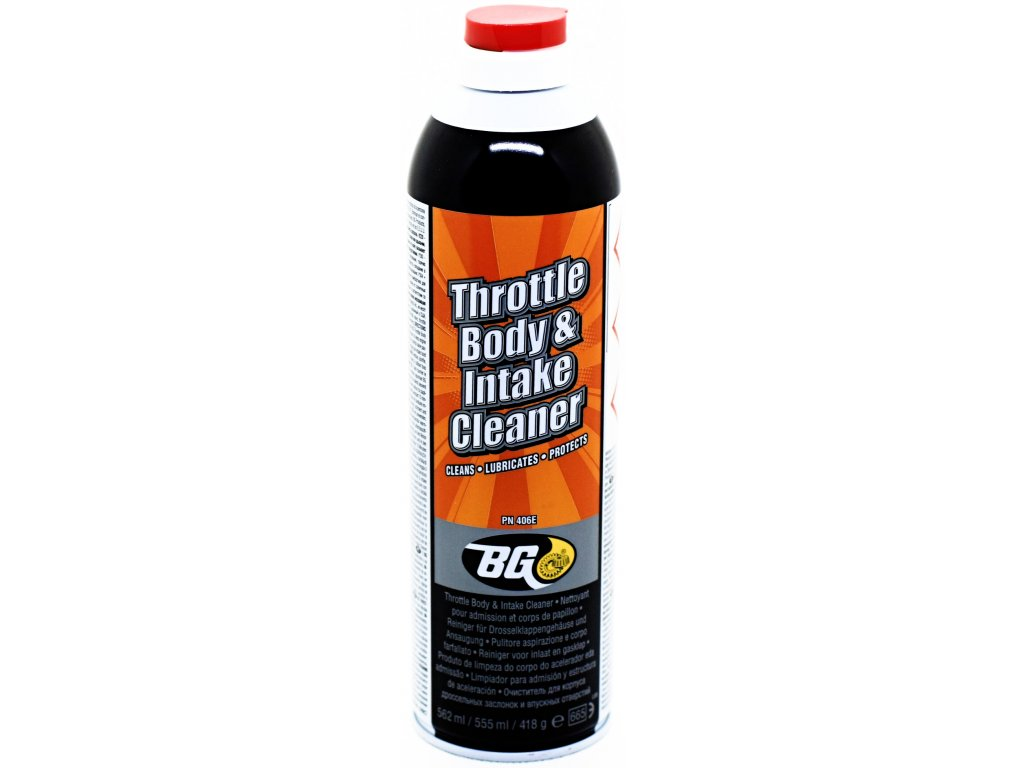 BG 406 Throttle Body & Intake Cleaner 567 ml
