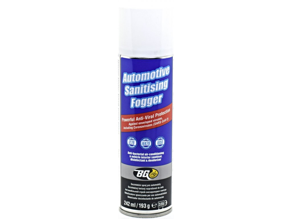 BG 703 Automotive Sanitizing Fogger 242 ml