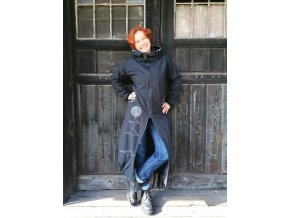 Kabát  ze softshellu podšívkovaný fleecem