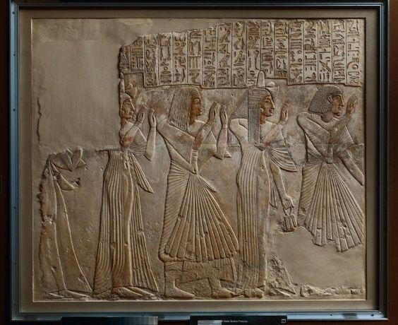 Plissé v dejinách ľudstva – Egypt _1.časť