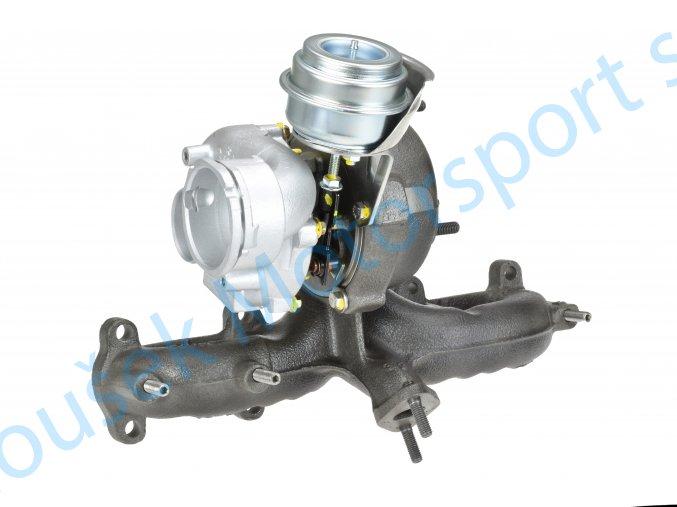 Turbo Garrett 720855 Volkswagen Bora 1.9TDi 96kW ASZ